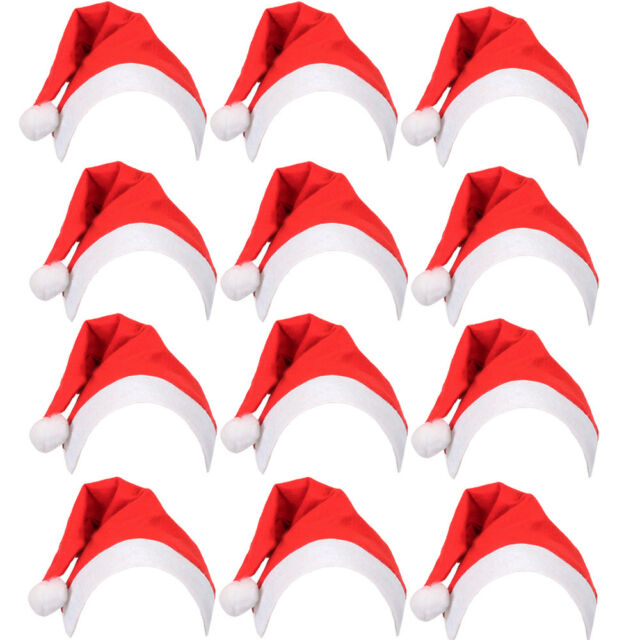 Pack of 12 Christmas Head Boppers Office Party Xmas Fancy Dress Headbands