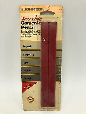12 x Viarco 293 Olimpico Work Carpenter Woodworker Bicolr Pencil 1 Full Box