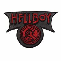 Hellboy Movie Logo Embroidered Patch