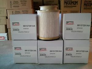 dodge ram 6 7 diesel fuel filters 68157291aa 68065608aa. Black Bedroom Furniture Sets. Home Design Ideas