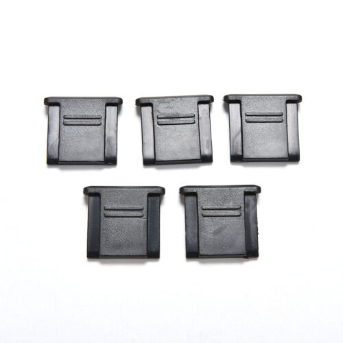 10 Pcs Hot Shoe Cover for Canon Nikon Olympus Pentax   Black、/_vi