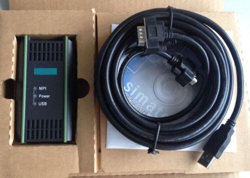 6ES7972-0CB20-0XA0 USB//MPI PC Adapter USB for Siemen S7-200//300//400 PLC Series