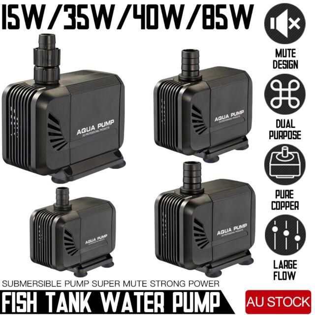 Submersible Fish Water Pump Pond Aquarium Tank Waterfall Fountain Sump AU Plug