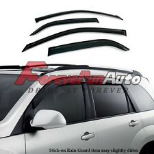 New Smoke Window Visor Shade Vent Wind Rain Deflector for 2012-2014 Toyota CAMRY