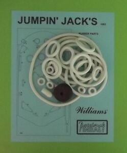 1963 Williams Beat The Clock pinball rubber ring kit