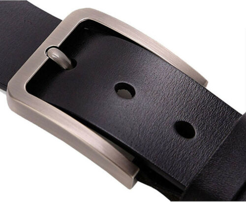 Big Size XS-9XL Top Quality Belt for Jeans Mens Belt 100/% Genuine Leather belt
