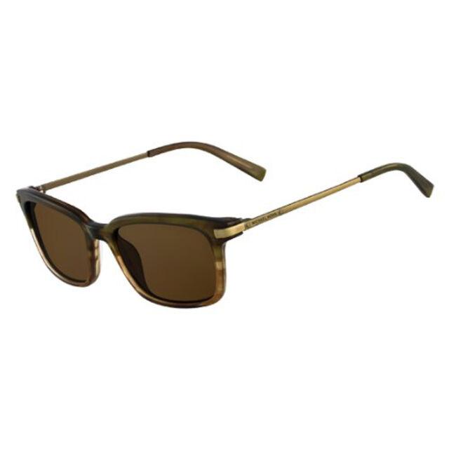 e5718d6c006e Michael Kors Carter MKS350M 310 Olive Horn Frame Brown Lens Designer  Sunglasses