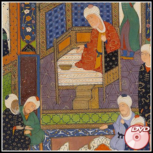 Arabic Persian 2 DVD/'s ISLAMIC Illuminated and Illustrated COLOR Manuscripts