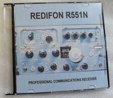Redifon R551N-DVD-Professional le comunicazioni HF RICEVITORE RADIO-ONDE CORTE