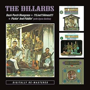 The-Dillards-Back-Porch-Bluegrass-Live-Almost-New-CD-UK-Import