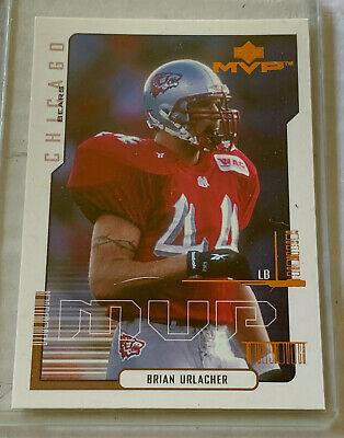 2000 Upper Deck Jugador más Valioso #192 Brian Urlacher Chicago Bears New Mexico Lobos Royal Crown Novato