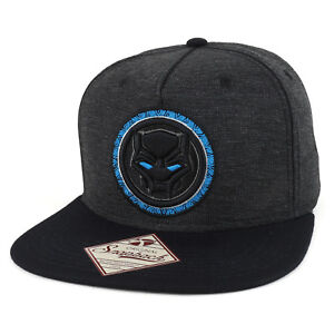 35df978f08f5 Image is loading Armycrew-Black-Panther-Logo-Embroidered-5-Panel-Flatbill-