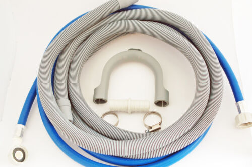 Machine à laver//lave-vaisselle Remplissage Eau et un Tuyau De Vidange Extension Kit 4 m cadeau