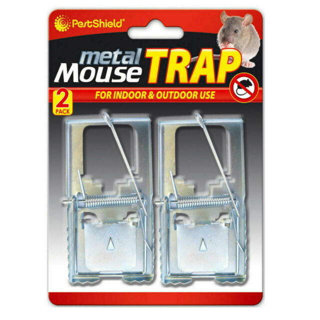 Selfset Mouse Trap  Classic Design Rust-Resistant Springs Galvanised Metal Rod