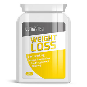 Details about ULTRA TRIM WEIGHT LOSS PILLS - LOSE BODY FAT FAST GET TONED  AND IN SHAPE