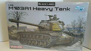 1/35 Dragon Models Black Label Smart Kit 'M103A1 Heavy Tank' Item #3548