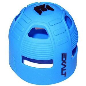Fits All HPA Tanks Exalt Tank Grip Blue Swirl Paintball