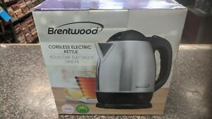 BRENTWOOD APPLIANCES KT-1770 Brentwood Appliances 1.2-Liter Stainless Steel E...