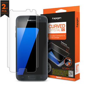 Spigen-Curved-Crystal-protecteur-d-039-ecran-incurve-Film-pour-Samsung-Galaxy-S7