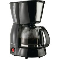 Brentwood Appliances 4 Cup Coffee Maker (black) Ts-213bk