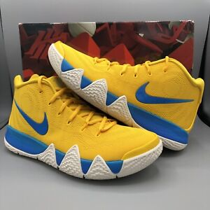 best service b1572 97b45 Details about Nike Kyrie Irving 4 KIX CEREAL PACK AMARILLO YELLOW BLUE  BV0425-700 Sz 10 Jordan