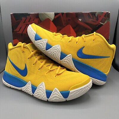 new product f8e49 00056 Nike Kyrie Irving 4 KIX CEREAL PACK AMARILLO YELLOW BLUE BV0425-700 Sz 10  Jordan 191888000357   eBay