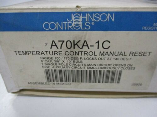JOHNSON CONTROLS A70KA-1C NSMP