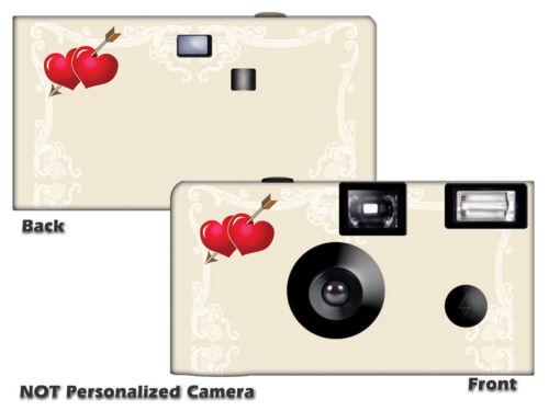 5 Two Hearts Disposable Cameras Fun Cameras, Fuji film