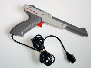 NES Nintendo Original Authentic ZAPPER Light Gun NES-005 TESTED WORKING