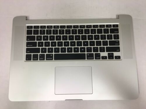 "LOT 5 MacBook Pro A1398 15/"" Mid 2015 Top Case Keyboard Trackpad 661-02536 AS IS"