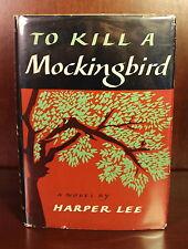 To Kill a Mockingbird 1960 Harper Lee 1st Edition 9th Printing 7th DJ