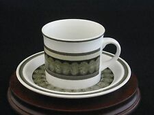 Royal Doulton Sienna Porcelain Cup & Saucer Set Made in England LS1022