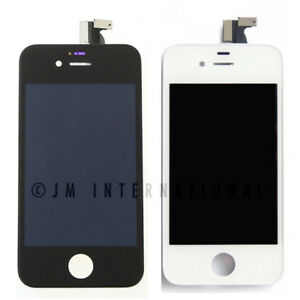 White-iPhone-4-4S-CDMA-LCD-Touch-Screen-Assembly-Frame-Digitizer-Assembly-Black