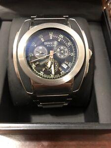 Authentic-Breil-Milano-BW0382-Mediterraneo-Chronograph-Stainless-Steel-Men-Watch