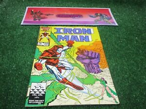 vtg-invincible-Iron-Man-209-Marvel-Comic-book-1st-print
