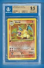 1st EDITION CHARIZARD HOLO (R) #4 1999 BASE POKEMON BGS 9.5 GEM MINT POP 1 RARE!