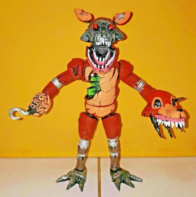 "Mexican ANIMATRONIC TWISTED FOXY Action Figure 8"" FNAF"
