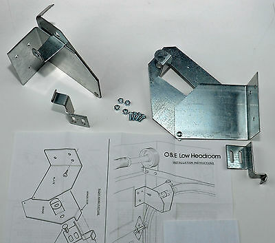 Garage Door Opener Low Headroom Conversion Kit Spring System Ceiling Tool