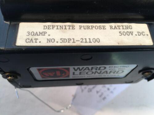 Ward Leonard Cat# 5M65 Contactor Cat #5DP1-21100