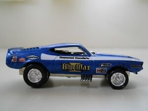 Lightning Blue Mustang >> Details About Johnny Lightning Blue Max Ford Mustang Nhra Funny Car Diecast