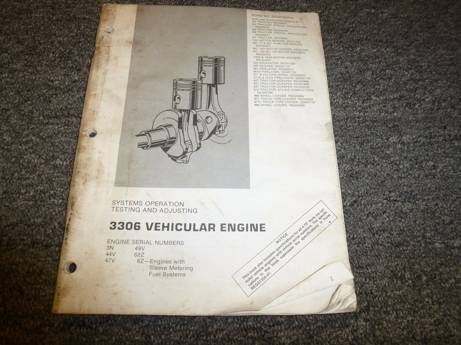 Caterpillar Cat 3306 Vehicular Engine Systems Operation Testing Diagram Norton Secured Powered By Verisign