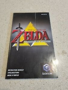 The Legend of Zelda Collector's Edition Nintendo Gamecube Instruction Booklet