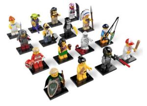 LEGO DE KOMPLETTA MINISTISKA SERIERNA 3 ALLA TILLBEHÖRIGANY