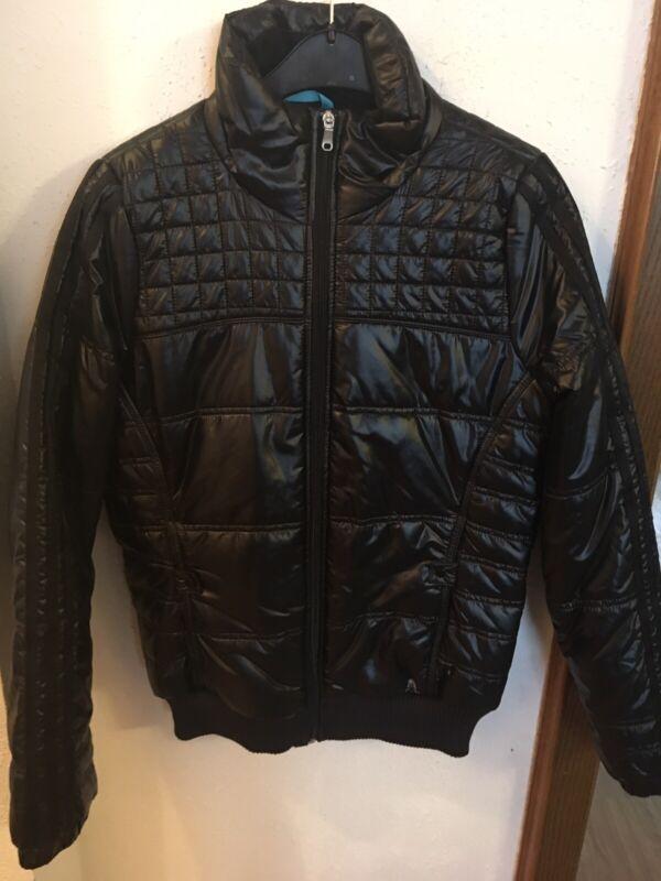 Adidas Jacke Sportjacke Winterjacke Adidas Schwarz Größe 40 Neu Mit Etikett Modischer (In) Stil;