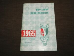 VINTAGE BSA BOY SCOUTS OF AMERICA 1965 REQUIREMENTS BOOK