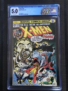 X-men-94-Cgc-5-0-Ow-w-MAJOR-KEY-2nd-App-Storm-3rd-Wolverine-Hot-Limited-Label
