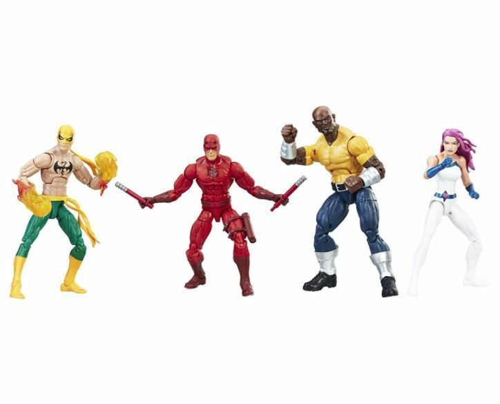 Comic Inspirosso Character giocattolo Marvel Legends Series The Defenders cifras 4 Pack