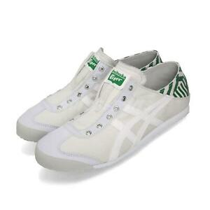 sports shoes 7d155 e7d6d Details about Asics Onitsuka Tiger Mexico 66 Paraty Grey White Green Men  Shoes D342N-9601