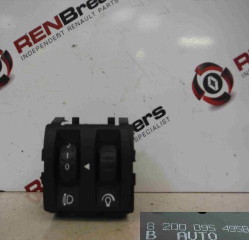 RENAULT Megane Cabrio 2002-2008 interruttore pulsante di regolazione Luci Anteriori Pannello