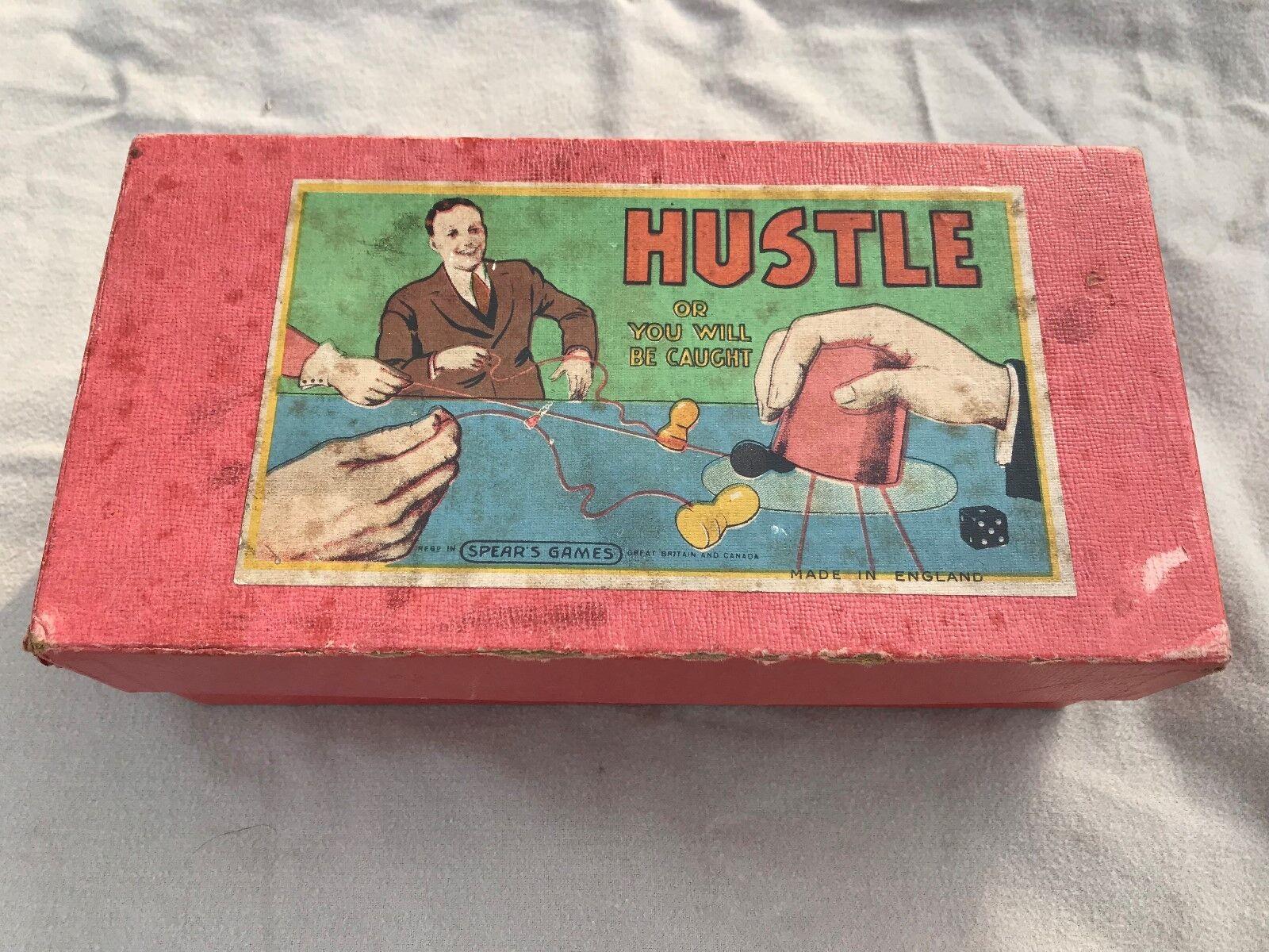 HUSTLE  VERY RARE 1920-30'S Vintage Spears Games hustle